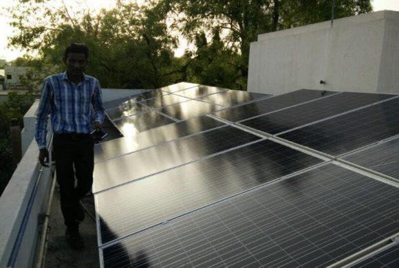 Darshan Mehta: 6 kWp Residential Rooftop Solar PV Fixed-tilt System