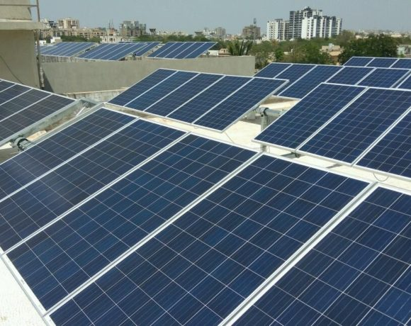Polio Healthcare : 56.4 kWp Commercial Rooftop Solar PV Single Axis Tracker